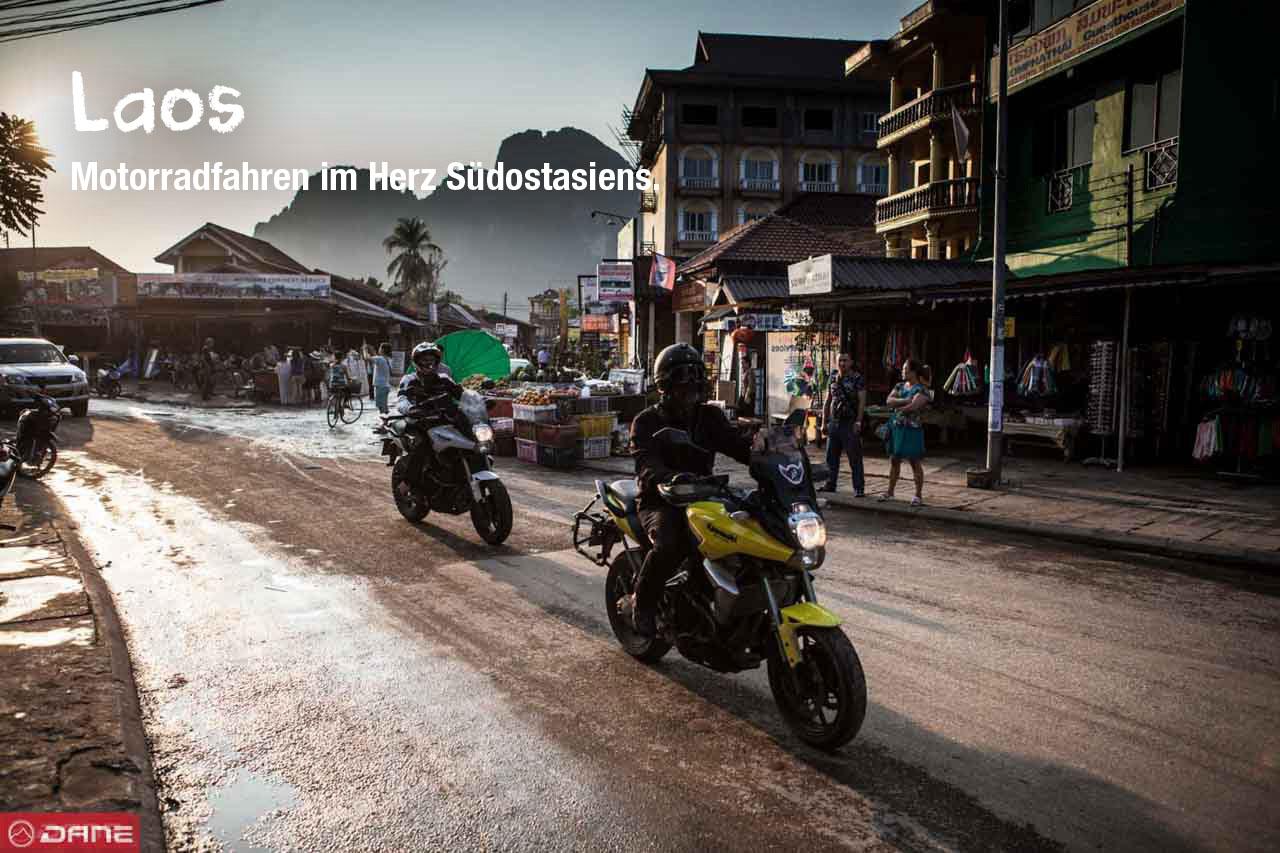 Dane Trophy Thailand Laos. Eine Motorradreise.