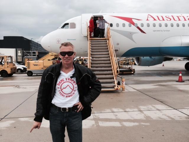 Flugverbindungen Tour 2015