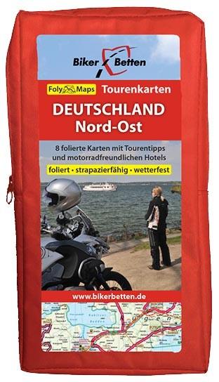 Motorrad Tourenkarten-Set Deutschland Nord-Ost