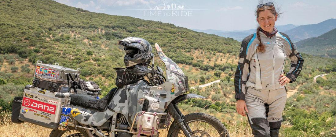 DANE FANO 2 LADY Motorradhose Sommer Damen