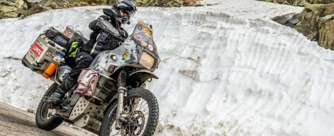 DANE HYGGE Motorrad Daunenjacke