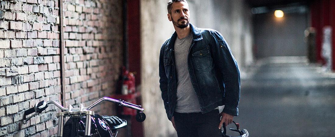 DIFI TEXAS Motorradjacke Jeans Aramid
