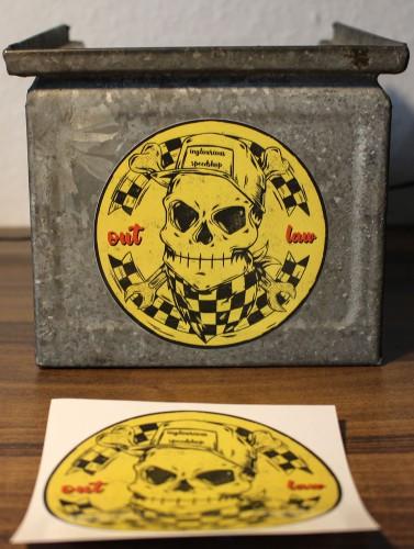 WHEELS & WAKE Aufkleber / Sticker