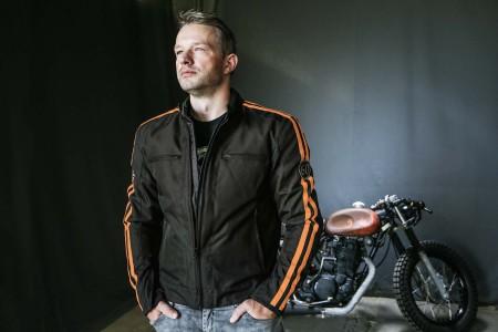 DIFI BRONX AEROTEX® Motorradjacke Retro