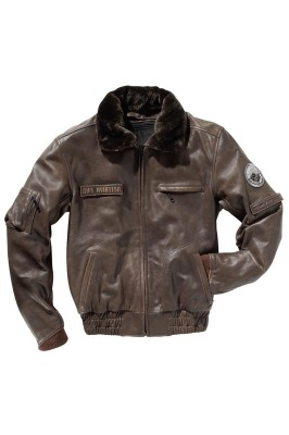 DIFI AVIATION CLASSICS Motorradjacke Leder Retro