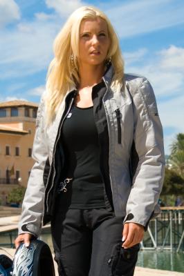 DIFI TESSA AEROTEX® Motorradjacke Damen