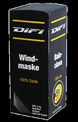Windmaske, Seide