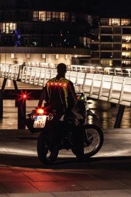 DANE VIBORG LED Motorradweste