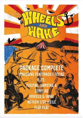 Wheels & Wake 2021 / 3-Tages-Ticket