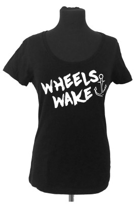 WHEELS & WAKE DAMEN T-SHIRT
