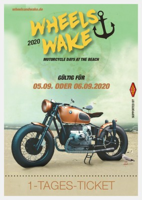 Wheels & Wake 2020 / 1-Tages-Ticket