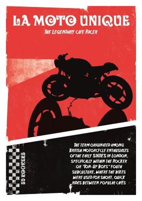 WHEELS & WAKE La Moto Unique - Das einzigartige Motorrad