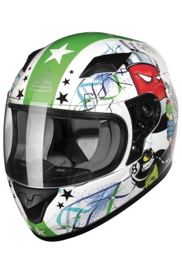 BAYARD SP-56 KID CARTOON Integralhelm Kinder