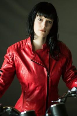 DIFI SHE-DEVIL Motorradjacke Leder Damen