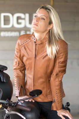 DIFI MARILYN Motorradjacke Damen Leder
