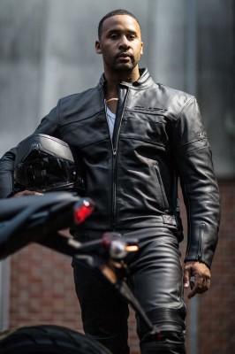 DIFI MILES Motorradjacke Leder