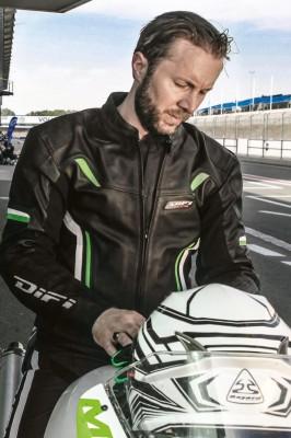 DIFI MONACO Motorradjacke Leder