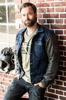DIFI ALABAMA Motorradjacke Jeans