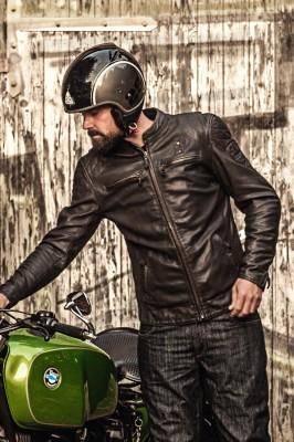 DIFI CHICAGO Motorradjacke Leder Retro