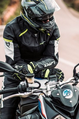 DIFI SACRAMENTO 2 AEROTEX® Motorradjacke Leder