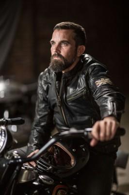 DIFI BONNEVILLE Special Edition Motorradjacke Leder Retro