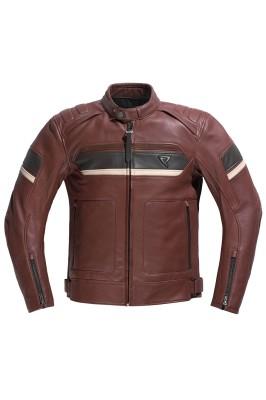 DIFI BASILISK Motorradjacke Leder Retro