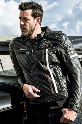 DIFI DETROIT Motorradjacke Leder Retro