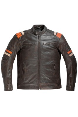 DIFI SPRINGSTEEN Motorradjacke Leder Retro