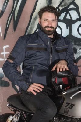 DIFI TAURUS Motorradjacke Retro