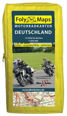 FolyMaps Motorradkarten Deutschland