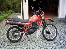 Motographie: Honda XL 500R