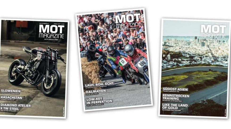 Das MOT_Magazine in der Print Ausgabe. Kostenlos!